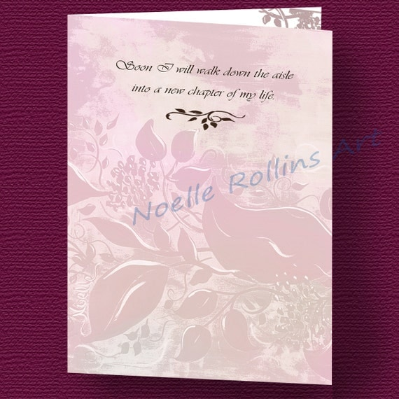 wedding Thank you card to parents from Bride for wedding or