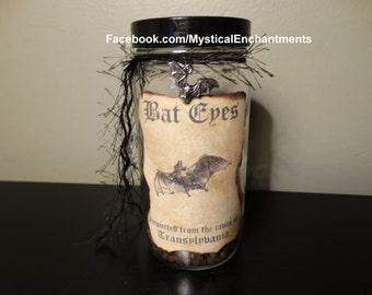 Bat Eye's Glass Specimen Bottle