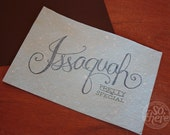 Issaquah is Pretty Special - Limited Edition Print
