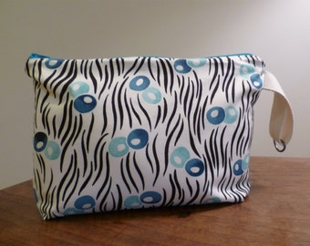 Zippered Wet Bag Pouch with Waterproof Lining