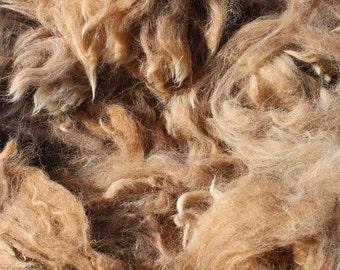 Medium Fawn Alpaca Fleece