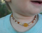 Tulasi Amber Necklace for Baby
