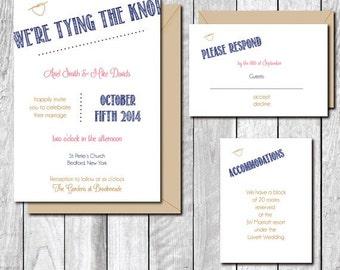 Wedding Invitations, Tying the Knot, Invitations, Wedding Invites, Rustic Wedding Invitations, Outdoor Weddings., Affordable Weddings