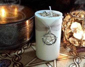 Full Moon Sandalwood Candle