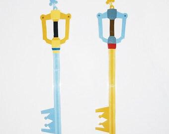 Kingdom hearts Keyblades Bookmark