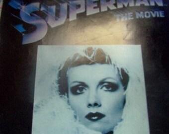 Superman 1978 movie can you read my mind Maureen Mogovern. sheet music ephemera