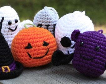 Crochet Halloween Ornaments