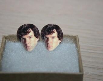 Benedict Cumberbatch Post Stud Earrings Celebrity Inspired Jewelry