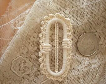 Lace buckle antique fabulous