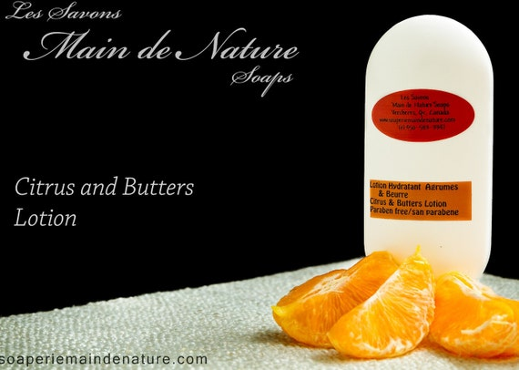 Citrus Butters or Three Roses Mosturizing Paraben Free Lotion
