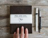 Large Hand-Bound Journal, Sketchbook, Notebook, Blank Book, Handbound, Leather Journal, Leather Book, Travel Book, Writer, Artist, Gift