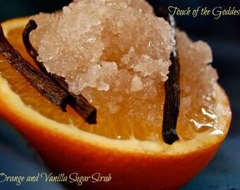 Orange and Vanilla Sugar Scrub