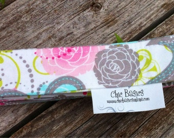 Diaper Strap Set over 200 Fabric choices