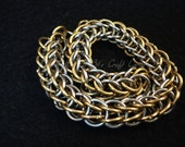 BULK CHAIN-chain by the inch-Persian Weave Chainmaille-Custom Chainmaille-Persian Chainmail