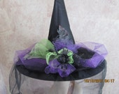 Vivid Halloween Witch Hat - Halloween Witch Hat - Witch Hat - Costume Witch Hat