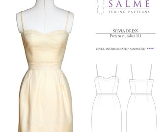 PDF Sewing pattern - Silvia Dress