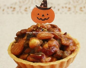 10 Picks - Halloween Pumpkin (1.2 x 2.4in)