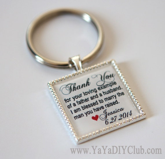 wedding keepsake gift for father of groom gift father of the