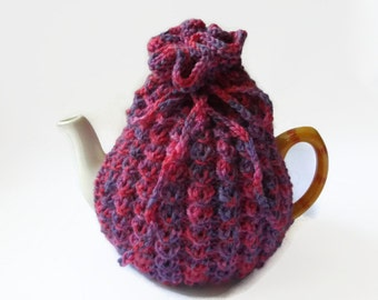 tea cozy hand knitted tea cosy uk seller