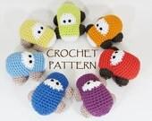 Amigurumi Car crochet pattern stuffed toy tutorial English and Dutch pdf