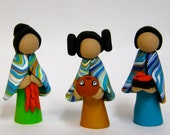 American Indian southwest doll figurines