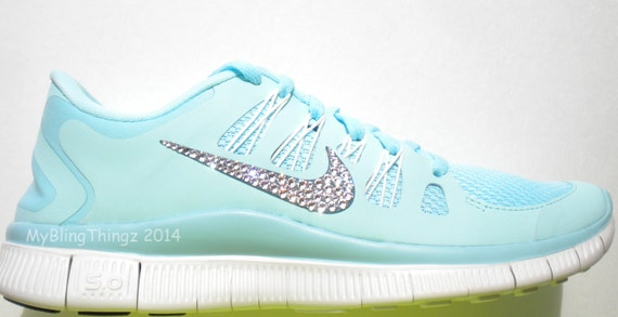 Nike Free   Womens Running Shoe Glacier Ice Night
