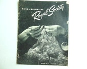 Vintage Hand Crochet by Royal Society Book No. 4 Crochet Patterns 1945