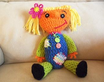 Crochet Raggedy Doll