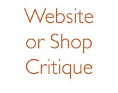 Critique - Etsy Shop or Website - Three Aspects