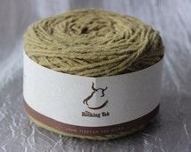 Tibetan Yak Yarn 100G Spring Moss Green 140 yards