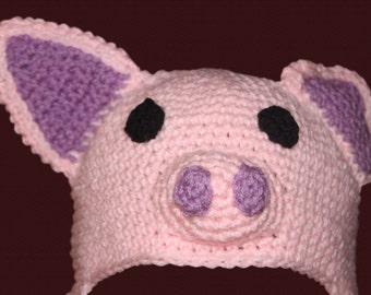 Pallu the Pig Hat