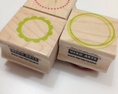 3 Hero Arts Circle Rubber Stamps