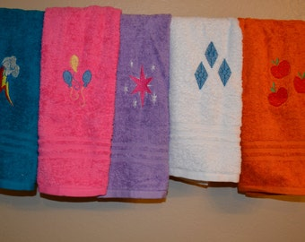 My Little Pony Main Six Hand Towel