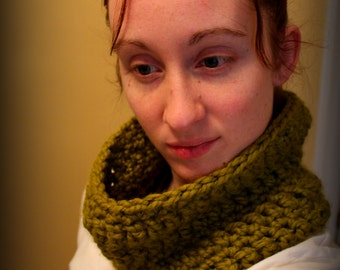Chuncky Crochet Cowl