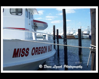 Miss Oregon Inlet - OBX - Manteo NC   - Fine Art Photography print by Dave Lynch - Free Shipping on any additional purchase