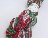 Handspun Yarn - Singles Yarn - 'Tis the Season - 1oz skein