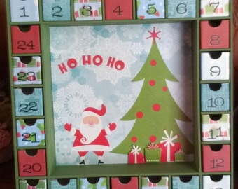 Ho Ho Ho Christmas Advent Calendar