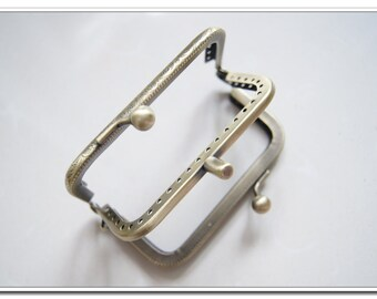 8.5 cm antique brass double sewing change purse frame coin purse frame