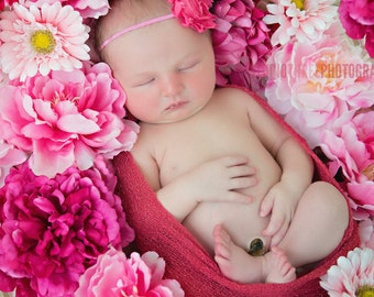 Zinnia Stretch Knit Wrap Newborn Baby Photography Prop