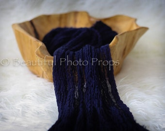 Navy Blue Cheesecloth Baby Wrap Cheese Cloth Newborn Photography