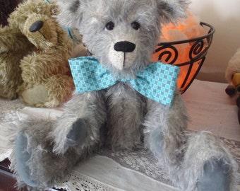 Teddy Bear -Jack,  One of a Kind Mohair Artist Bear, 13 inches