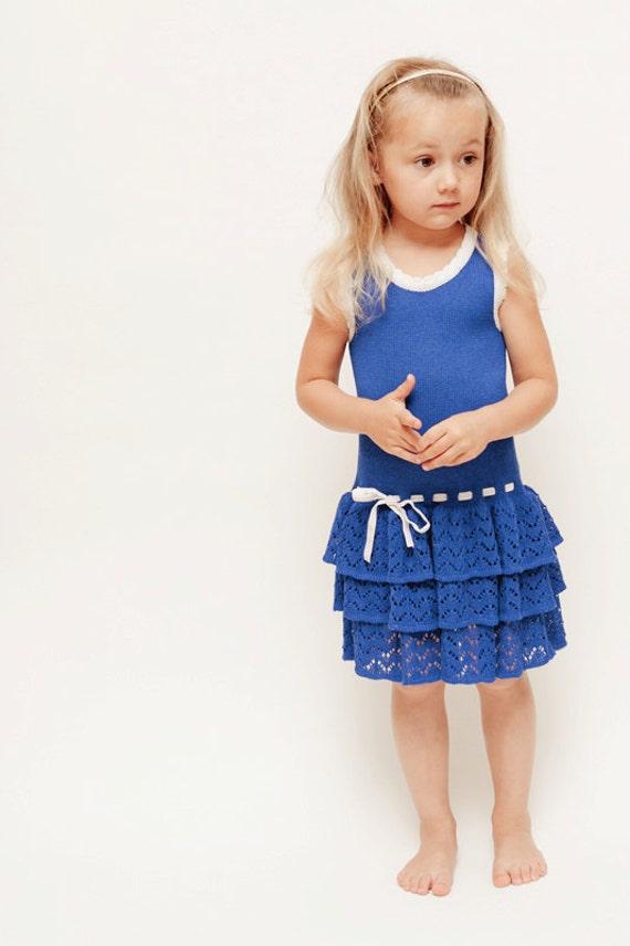 Items similar to Summer dress Toddler girls Knit cotton dress ...
