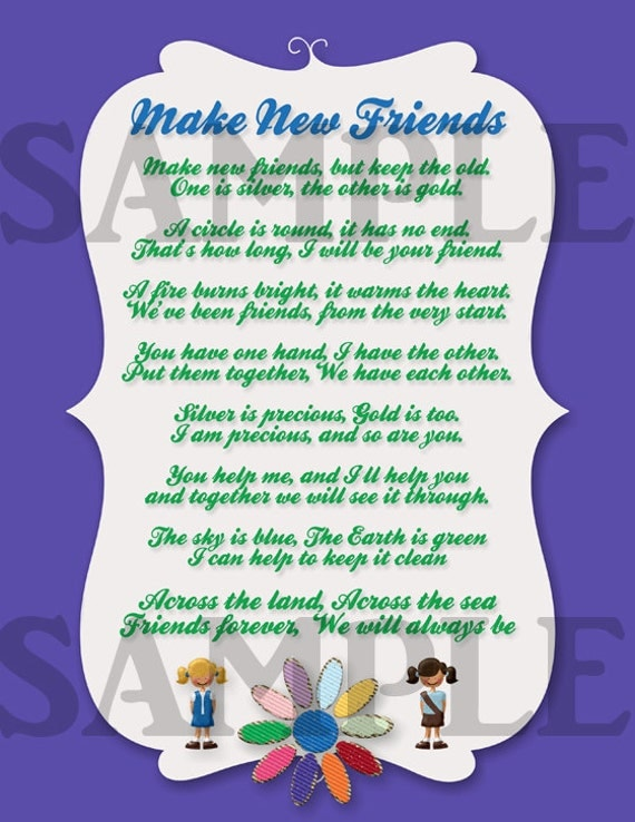Make New Friends sheet music for Treble Clef Instrument ...