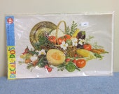 1970s Decal Do's - Vegetable Fruit Basket - New in Package Deadstock