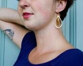 Tear Drop Earring, Carnelian Jewelry, Feminine, Gift for Her