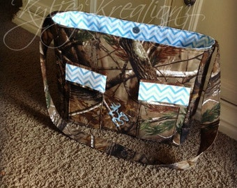 Hunting Camo Diaper bag - YOU DESIGN IT! Made to Order!