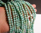 Larimar substitute - 8mm - 50 beads - full strand - A quality - RFG131