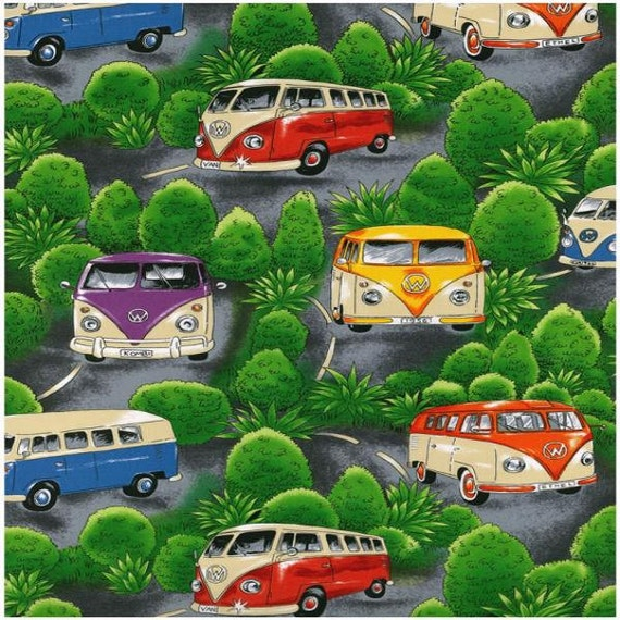 Volkswagen Vw Bus With Trees Background Nutex Of New Zealand