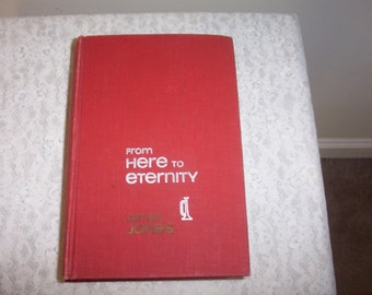 1951 From Here to Eternity - By James Jones Hardback Book