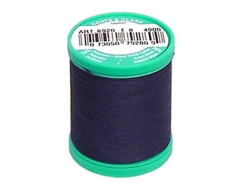 Button Carpet Nylon Thread  Coats and Clark C&C Dual Duty Navy Dk Blue Heavy Duty Plus Strong